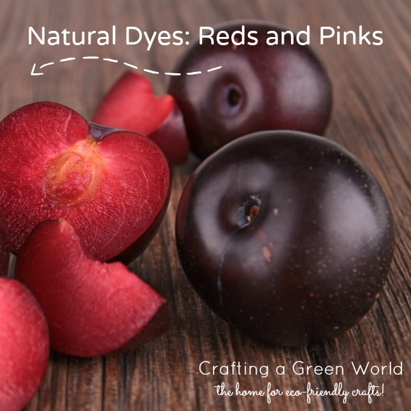 Natural Dyes Reds and Pinks
