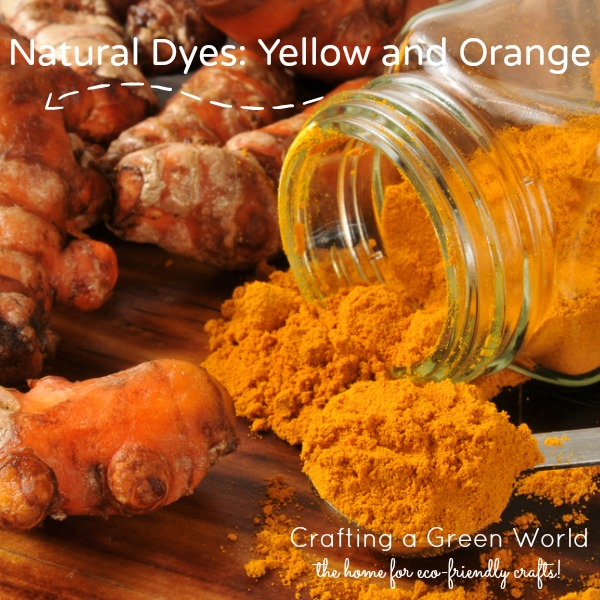 Natural Dyes: Yellow and Orange