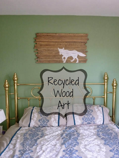 Recycled Wood Wall Art