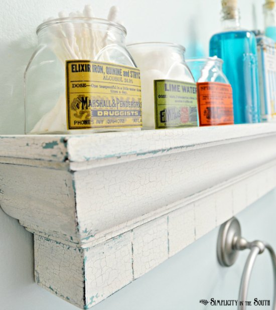 Vintage-Style Apothecary Jars