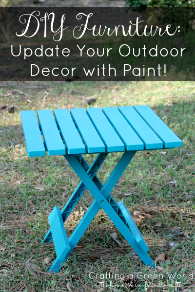 DIY Furniture: Update Your Outdoor Decor With Paint!