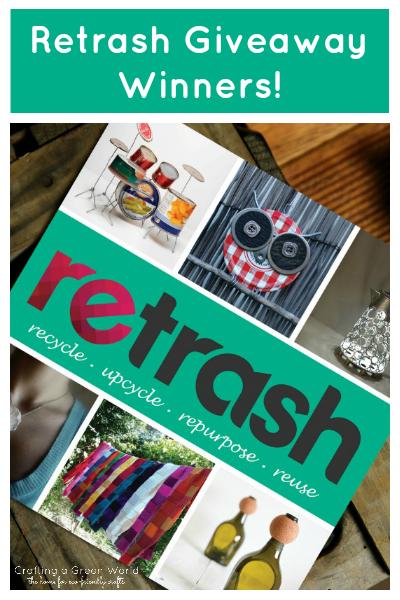 Retrash Giveaway Winners!