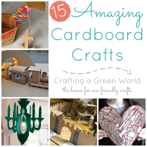 15 Amazing Cardboard Crafts