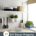 DIY Decor Projects for Home: Handmade Kitchen Ideas