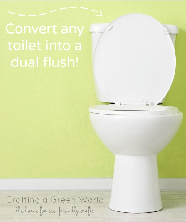 Convert Your Toilet to a Dual Flush Toilet