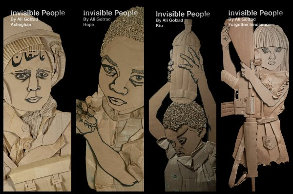 Craftivism in Action: Invisible People by Ali Golzad