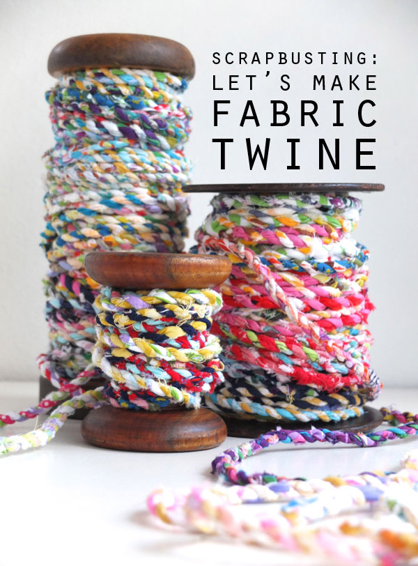 Fabric Scrap Twine