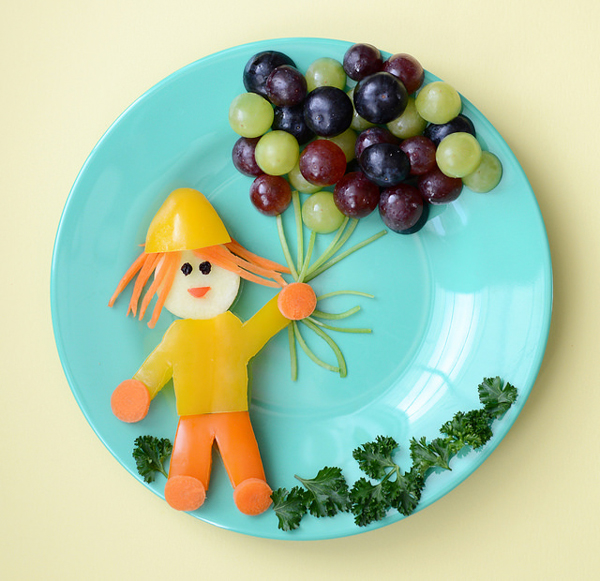 Healthy Food Art from Meet the Dubiens