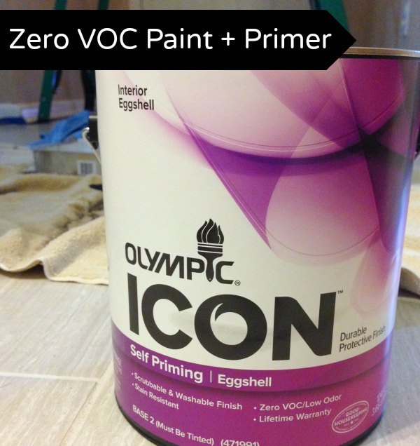 Olympic Paint Review: Zero VOC Paint + Primer