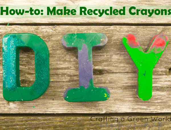 Make Recycled Crayons