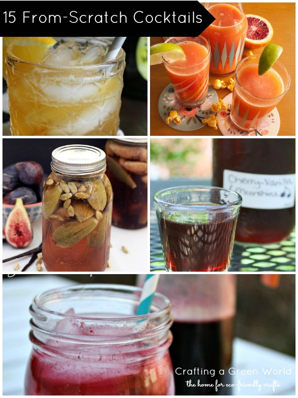 15 Cocktail Recipes to Make from Scratch