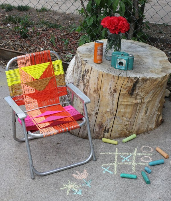 Aluminum Deck Chair Revamp