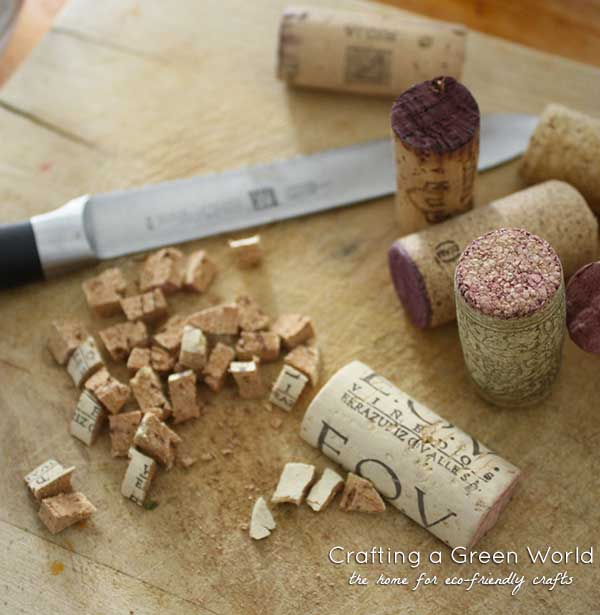 How to Make Mulch from Wine Corks