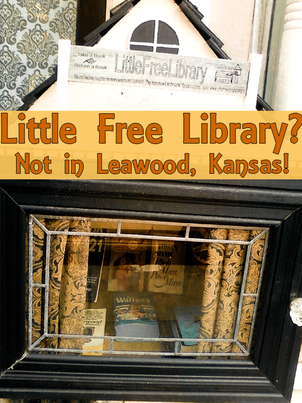 Little Free Library? Not in Leawood, Kansas!
