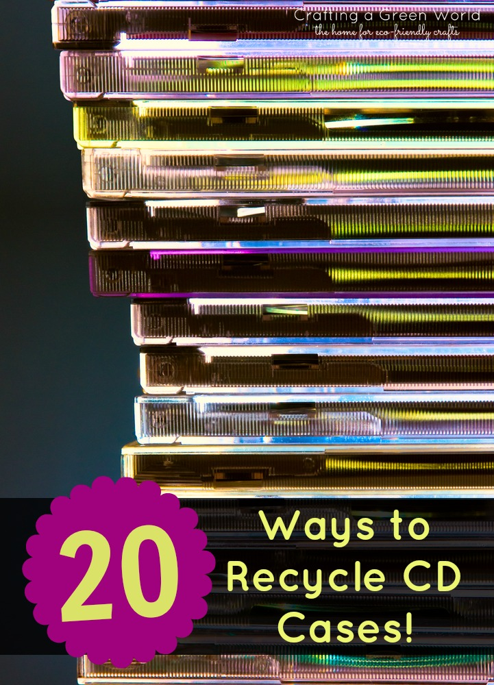 Diy Crafts 20 Ways To Recycle Cd Cases Crafting A Green World