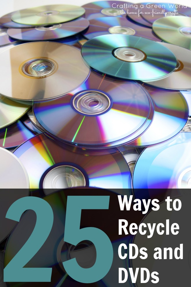 Diy Crafts 25 Ways To Recycle Cds And Dvds Crafting A Green World