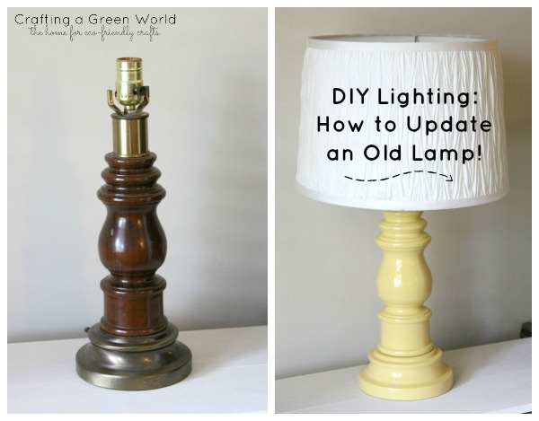 DIY Lighting: How to Update an Old Lamp!