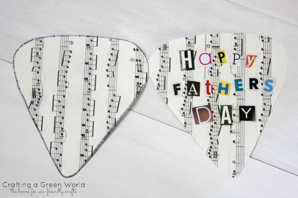 DIY Father's Day Gift Ideas: Make a Recycled Card