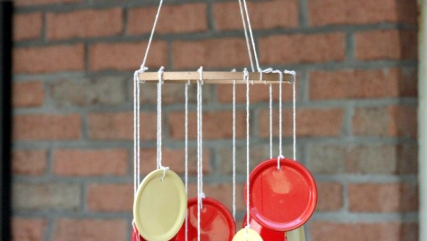 Summer Crafts Diy Canning Lid Wind Chime Crafting A
