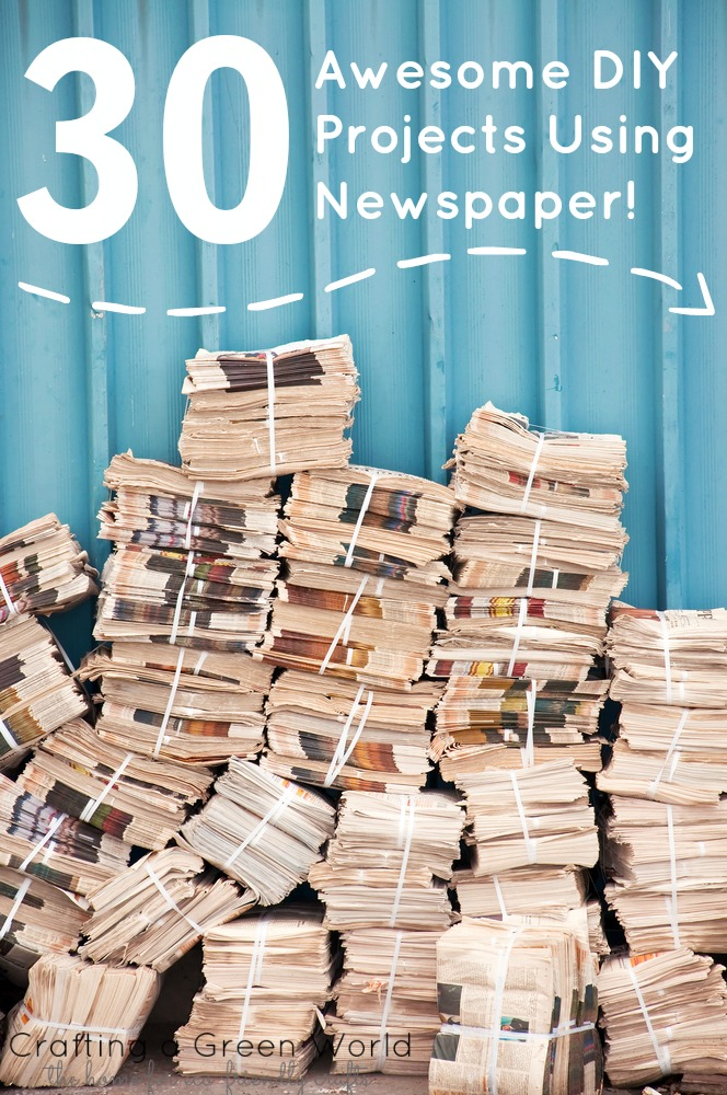 30 awesome diy projects using newspaper crafting a green world 30 awesome diy projects using newspaper solutioingenieria Images