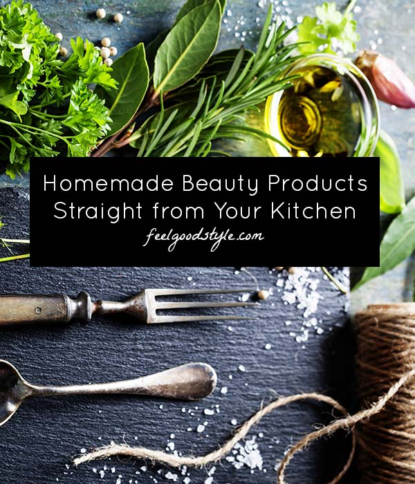 DIY Beauty Products from Kitchen Ingredients
