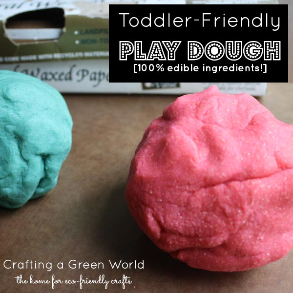 Crafts for Kids: Play Dough Recipes with all Edible Ingredients