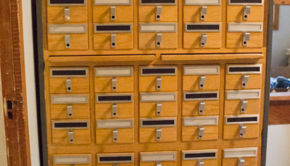 Card Catalogue into Studio Storage
