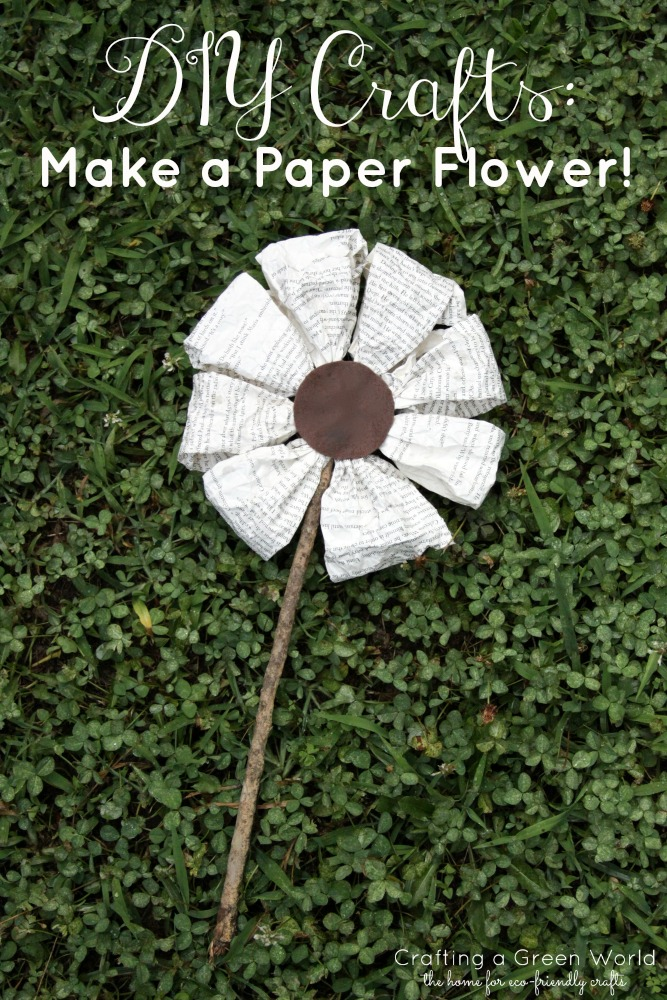 DIY Crafts: Make a Paper Flower!