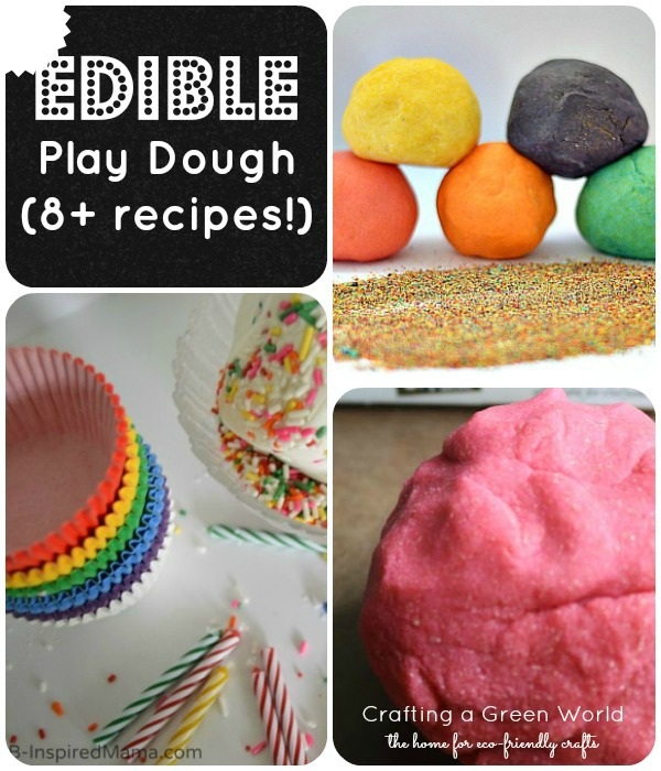 8+ Edible Play Dough Recipes