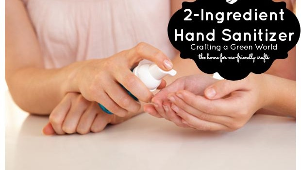 How to Make Hand Sanitizer with Only Two Ingredients