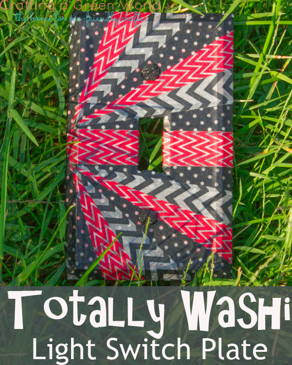Totally Washi Light Switch Plate
