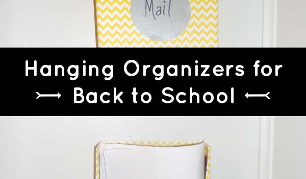 Wall Hanging File Folders diy organization: make a hanging wall file from old cereal boxes