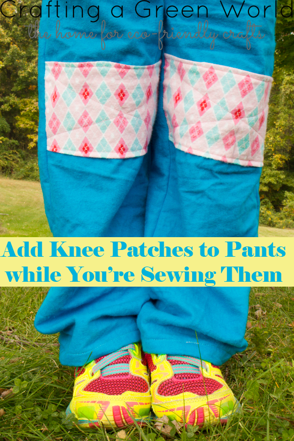 How to Make Patches Patches for Pants as You're Sewing Them