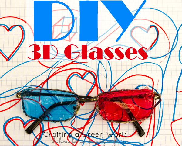 Kid-Made: How to Make 3D Glasses