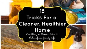 18 DIY Home Projects to For a Greener, Cleaner, Healthier Home