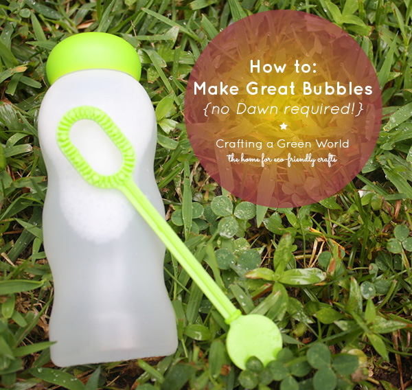 How to make Bubbles without Dawn