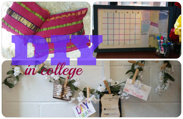 3 DIY Dorm Decorating Ideas to Make Your Room Your Own