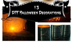 13 DIY Halloween Decorations