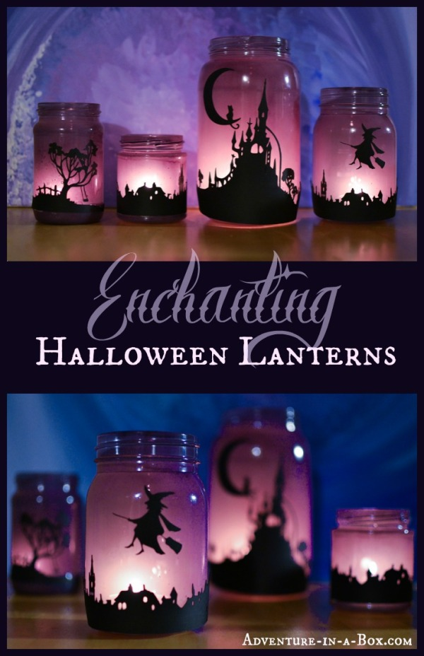 Halloween Luminaries from Adventure in a Box