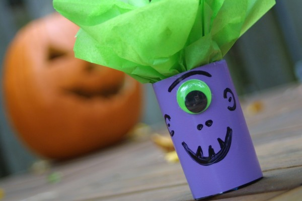 Upcycled Halloween Crafts