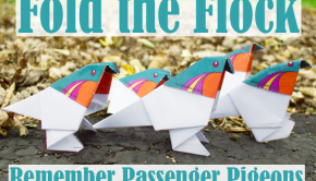 Fold the Flock to Remember Passenger Pigeons