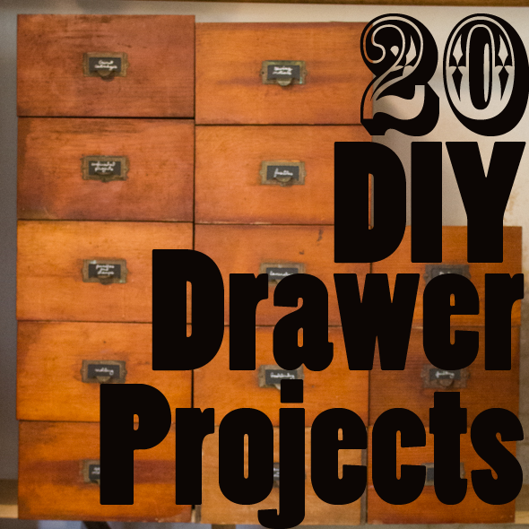 20 DIY Drawer projects