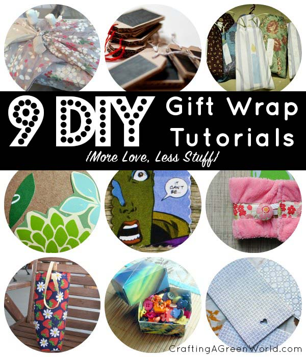 9 DIY Gift Wrapping Ideas for Less Holiday Waste