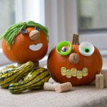 Thanksgiving Crafts from Natural Materials