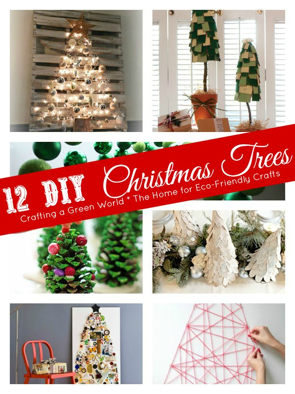 12 DIY Christmas Tree Ideas for a Waste-Free Holiday