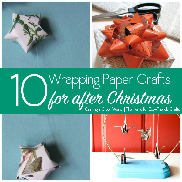 10 Wrapping Paper Crafts To Use Up That Gift Wrap