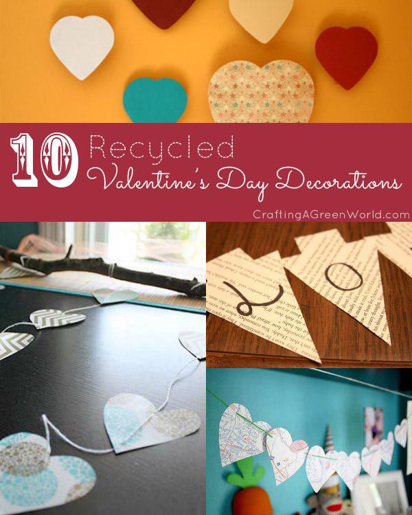 10 DIY Valentine Decorations