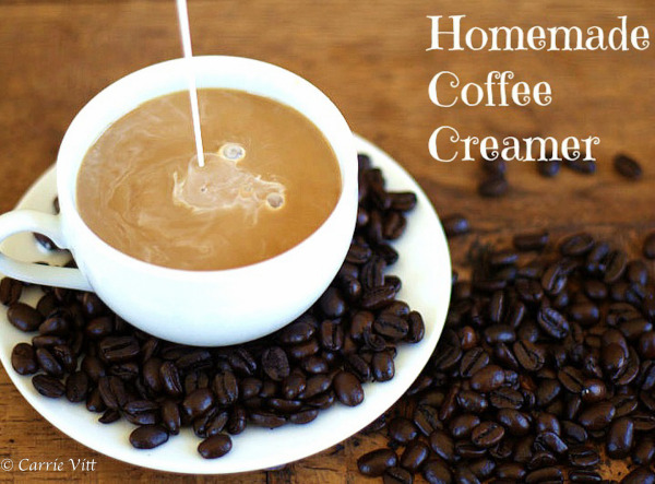 Homemade Coffee Creamer and other Coffee Crafts