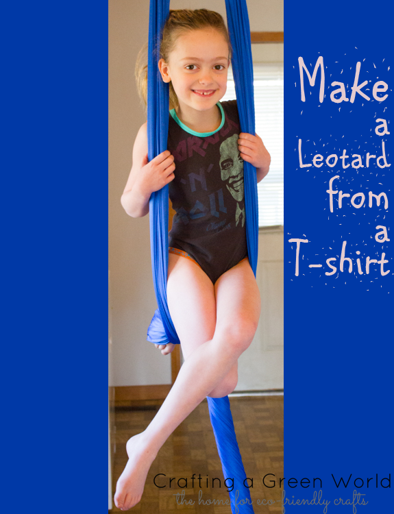 How To Make A Leotard From An Old T Shirt