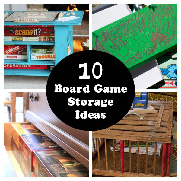 10 Better Board Game Storage Ideas